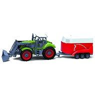 BRC 28611 Farm Traktor se přívěsem na koně - RC model