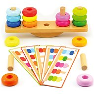 Skládačka - Balanční dřevo - Didaktická hračka