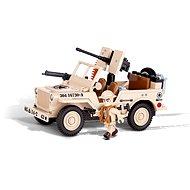 Cobi 24093 Jeep Willys Severní Afrika - Stavebnice