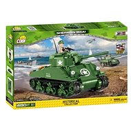 Cobi 2464 Small Army - WW M4A1 Sherman - Stavebnice