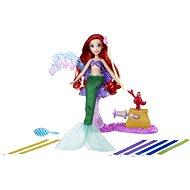 Disney Princess - Panenka Ariel s extra dlouhými vlasy - Panenka
