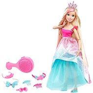 Barbie Vysoká princezna s blond dlouhými vlasy - Panenka