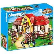 Playmobil 5221 Velká koňská farma s výběhem - Stavebnice