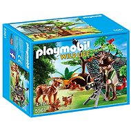 Playmobil 5561 Rysí rodina s filmařem - Stavebnice