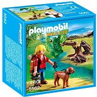Playmobil 5562 Přírodovědec s bobry - Stavebnice