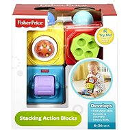 Fisher-Price Akční kostky - Didaktická hračka