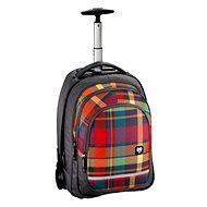 Trolley All Out Woody Orange - Školní batoh