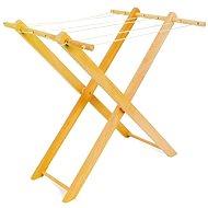 Dětský dřevěný sušák na prádlo - Herní set