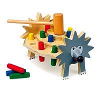 Zatloukačka ježek - Didaktická hračka