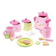 Dřevěný čajový set - Rose - Dětské nádobí