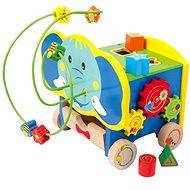 Aktivní motorický slon - Didaktická hračka