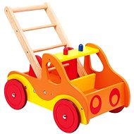 Dřevěné chodítko - Hasiči - Didaktická hračka