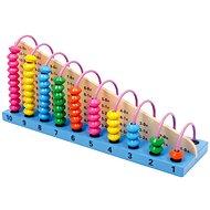 Kuličkové dřevěné počítadlo Profi  - Didaktická hračka