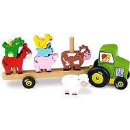 Traktor se zvířátky - Nasazování - Herní set
