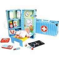 Dřevěné hračky Vilac - Zdravotnický set v kufříku - Herní set