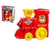 Lokomotiva - Didaktická hračka