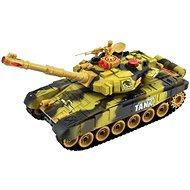 Tank s dobíjecím packem - žlutý - RC model
