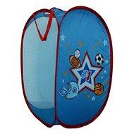Koš na hračky pro kluky - Míče - Dekorace do dětského pokoje