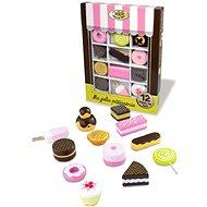 Set dřevěných sladkostí - Herní set