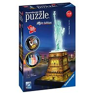 Ravensburger 3D 125968 Statue of Liberty (Night Edition) - 3D puzzle