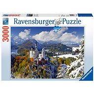 Ravensburger 170623 Zámek Neuschwanstein v zimě - Puzzle