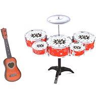 Bubny červené - Hudební hračka