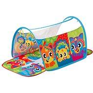 Playgro Hrací deka s tunelem Zvířátka - Hrací deka