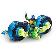 Motorka s figurkou modrá - Auto