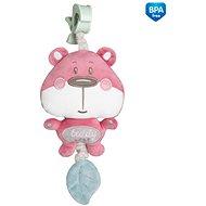 Canpol babies Růžový medvídek - Hračka pro nejmenší
