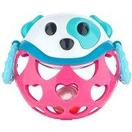 Canpol babies Růžový pes - Chrastítko