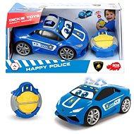 Dickie IRC Happy policejní  - RC auto na dálkové ovládání