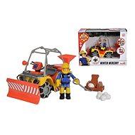 Simba Požárník Sam zimní čtyřkolka Mercury s figurkou - Auto