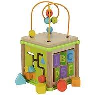 Eichhorn Multifunkční kostka dřevěná - Didaktická hračka