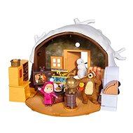 Domeček pro panenky Simba Máša a medvěd Zimní dům medvěda
