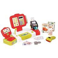 Smoby Pokladna elektronická s váhou červená - Herní set
