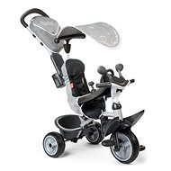 Smoby Baby Driver Comfort Tricycle, Grey - Tricycle