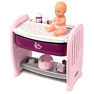 Smoby Baby Nurse 2-in-1 Cot/Changing Table - Doll Accessory