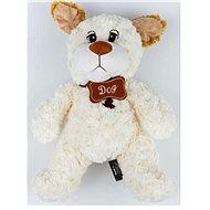Pes bílý 50 cm - Plyšák