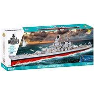 Cobi Bitevník Missouri BB-63 z World of Warships - Stavebnice