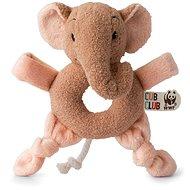 Ebu Slon růžový Chrastítko - Chrastítko