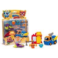 SuperZings - Blister figurky a vozidlo - Sběratelská sada