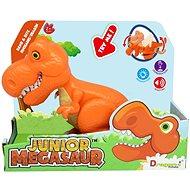 Interaktivní hračka Junior Megasaur: T-Rex - oranžový - Interaktivní hračka