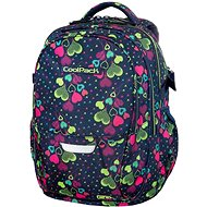 CoolPack Factor Lime Hearts - Backpack