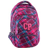 CoolPack College Cranberry Check - Batoh