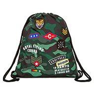 Vak na záda CoolPack Camo Green Badges - Sáček