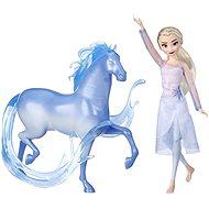 Frozen 2 Panenka Elsa s kouzelným koněm - Figurka