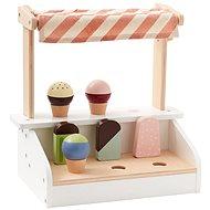 Stojan se zmrzlinou a nanuky dřevěný Bistro - Herní set