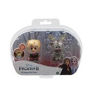 Frozen 2: Whisper & Glow Mini Doll - Kristoff & Sven - Figure