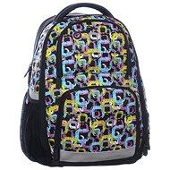 Dívčí školní batoh pro 3.třídu Orion 0115 A - Školní batoh
