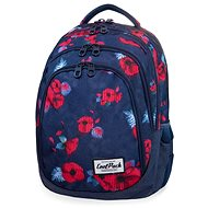 CoolPack Drafter Red Poppy - School Backpack